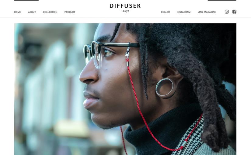 DIFFUSER WEBサイト